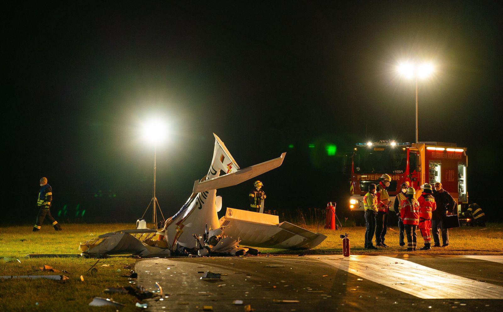 Flugzeugabsturz in Oberfranken