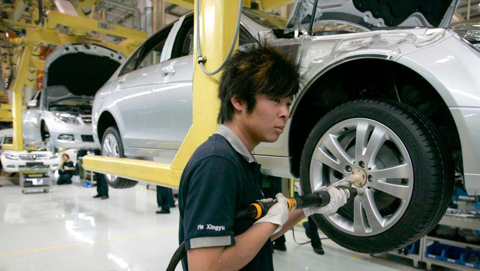 Daimler-Werk in Peking: »Nachhaltigkeit bekommt man nicht gratis«