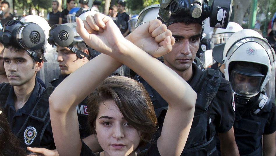 "Protest im Gezi-Park: ""Hexenjagd der Regierung"""