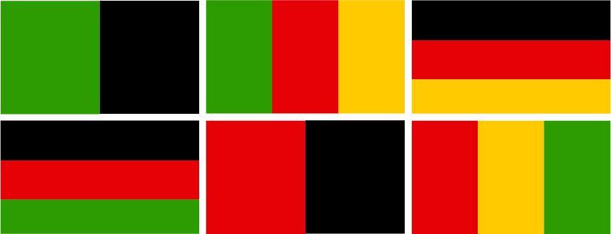 Mögliche Koalitionskombinationen nach den Landtagswahlen