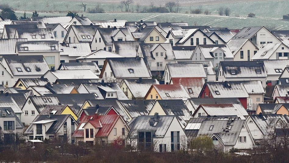 Wohnsiedlung in Erfurt (Symbolbild)