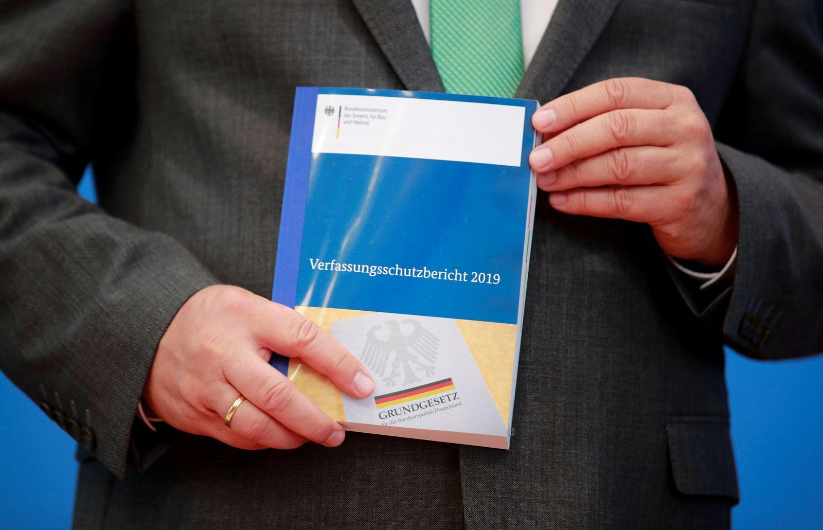 Vorstellung Verfassungsschutzbericht 2019