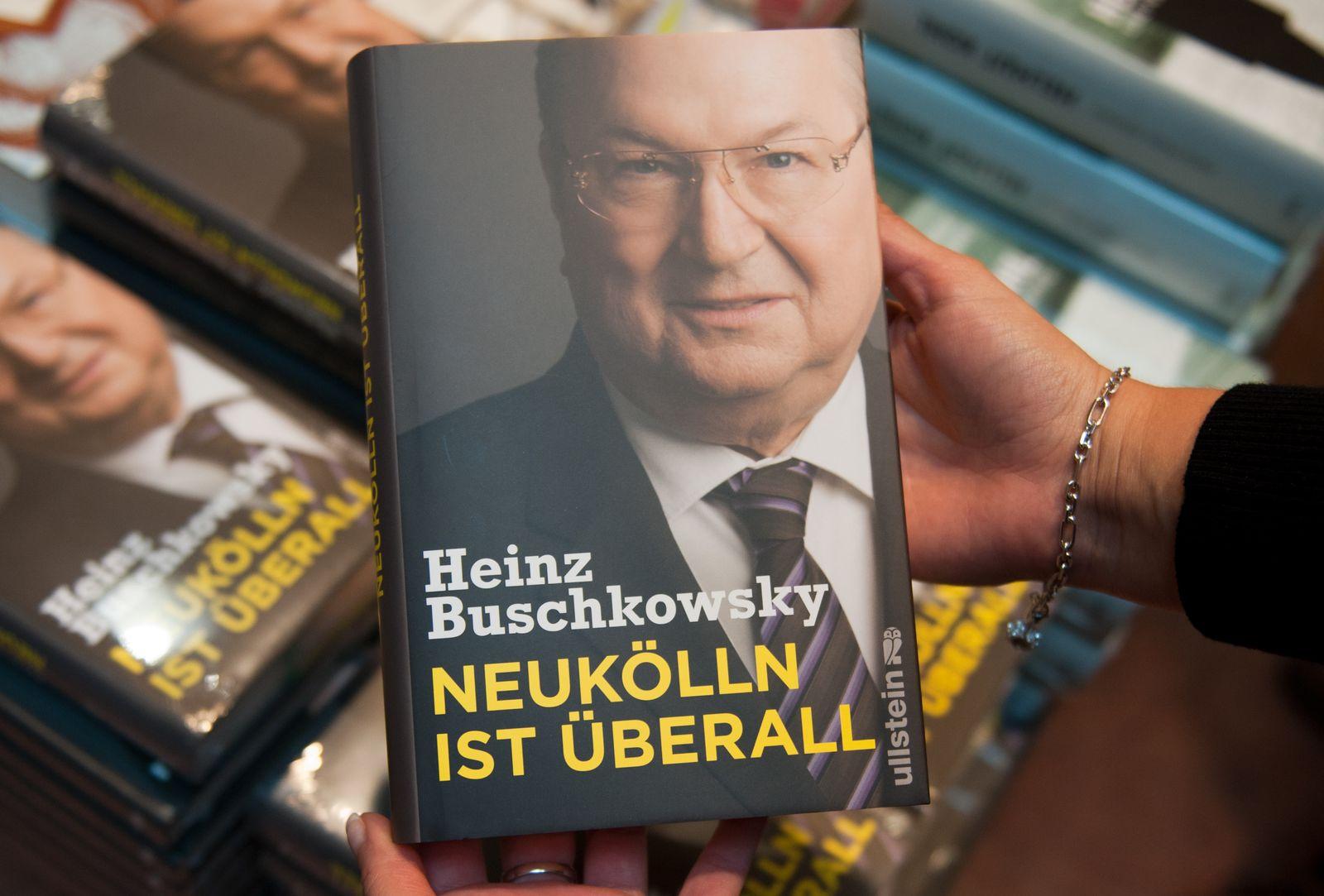 NICHT VERWENDEN Heinz Buschkowsky / Neukölln ist überall