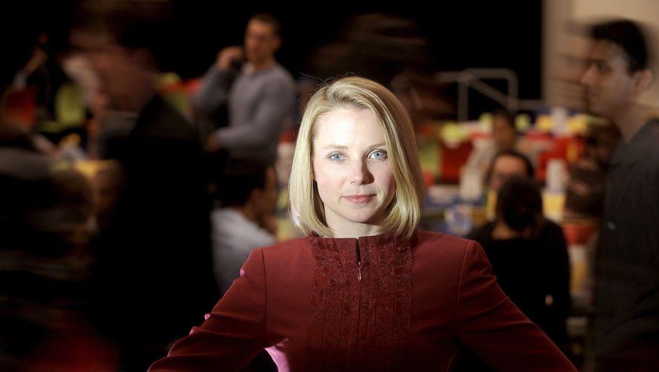 Neulich in der Kantine: Yahoo-Chefin Mayer setzt auf mehr direkte Kommunikation