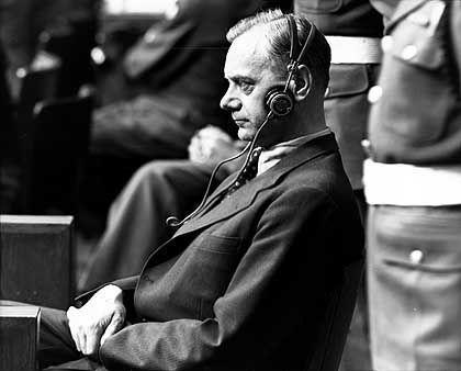 """Rosenberg in Nürnberg: """"Versuch, die Schuld abzuwälzen"""""""