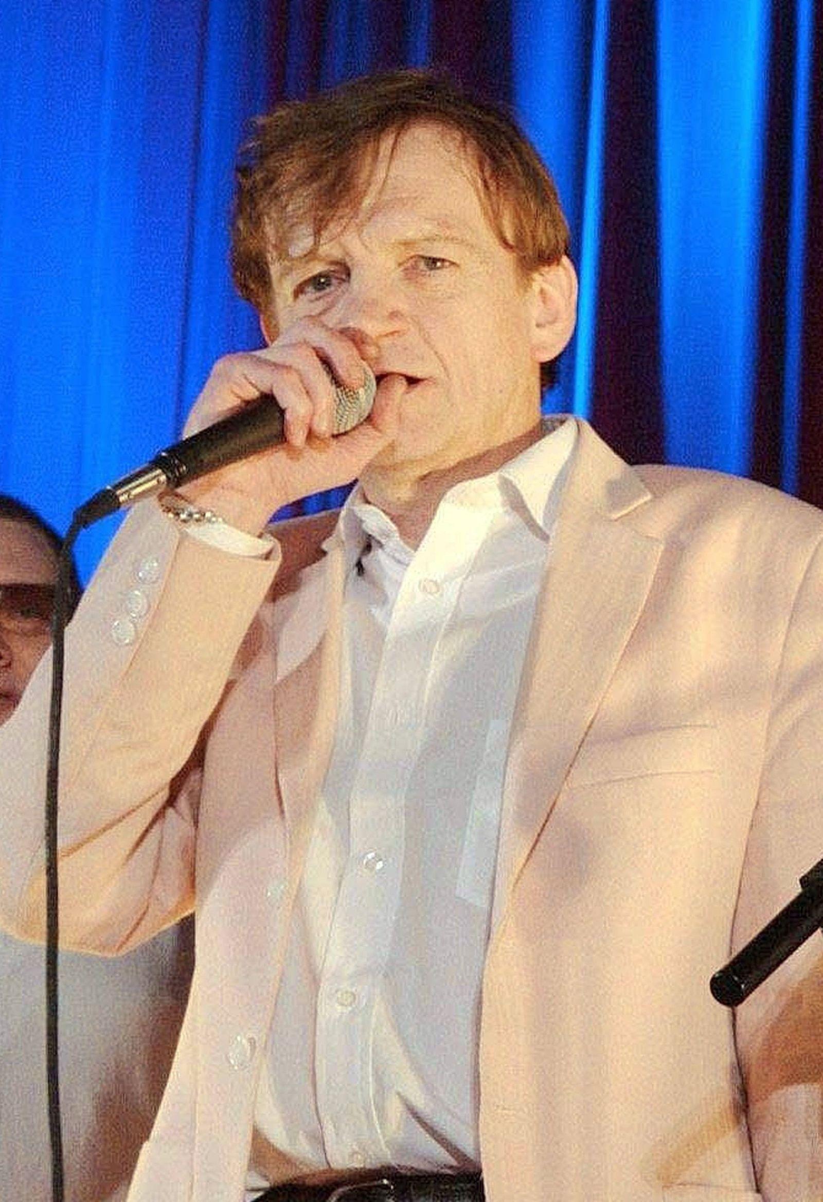 Sänger Mark E. Smith