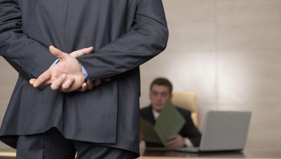 Wer aufsteigen will, redet im Mitarbeitergespräch eben nicht offen über Misserfolge