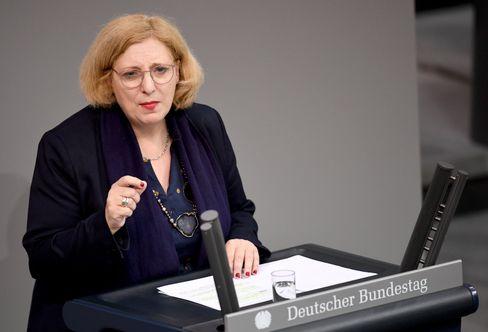 Daniela De Ridder (SPD) im Bundestag
