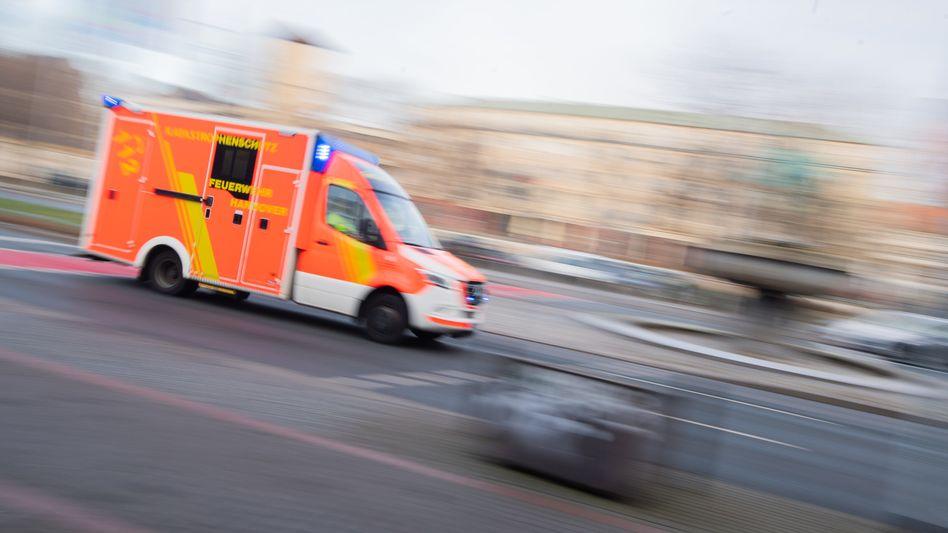 Rettungswagen im Einsatz (Symbolfoto)