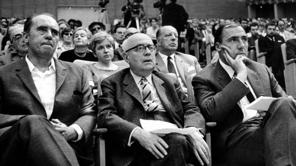 Theodor W. Adorno (1968): Noch immer das Bild einer deutenden Autorität
