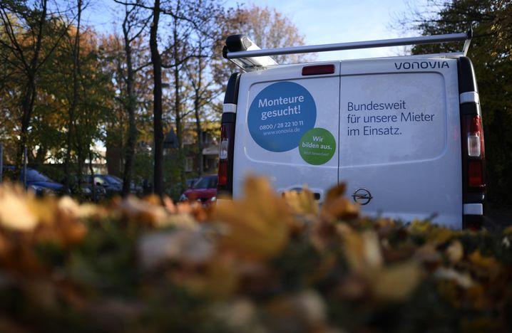 Vonovia-Fahrzeug (in Essen)