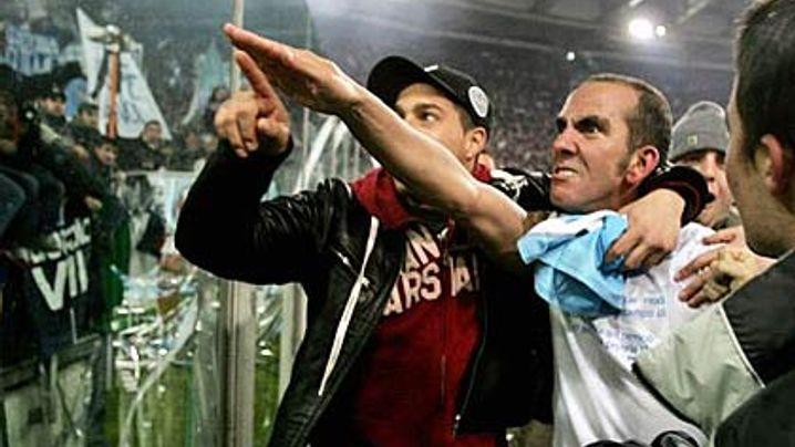 Faschistischer Gruß: Ermittlungen gegen Lazio-Kapitän di Canio
