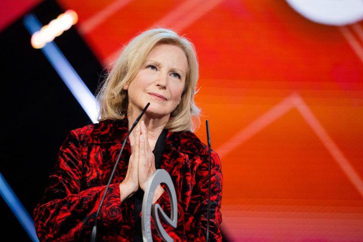 Maren Kroymann bei der Verleihung des Ehrenpreises: »Es ist gar keine Pointe«