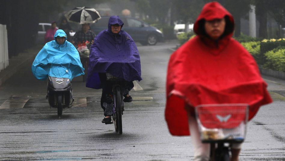 Regen in Peking (im Juni 2013): Wolken bringen Erlösung