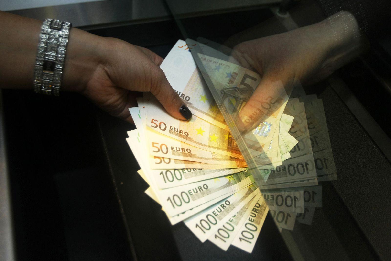 Geld / Euroscheine