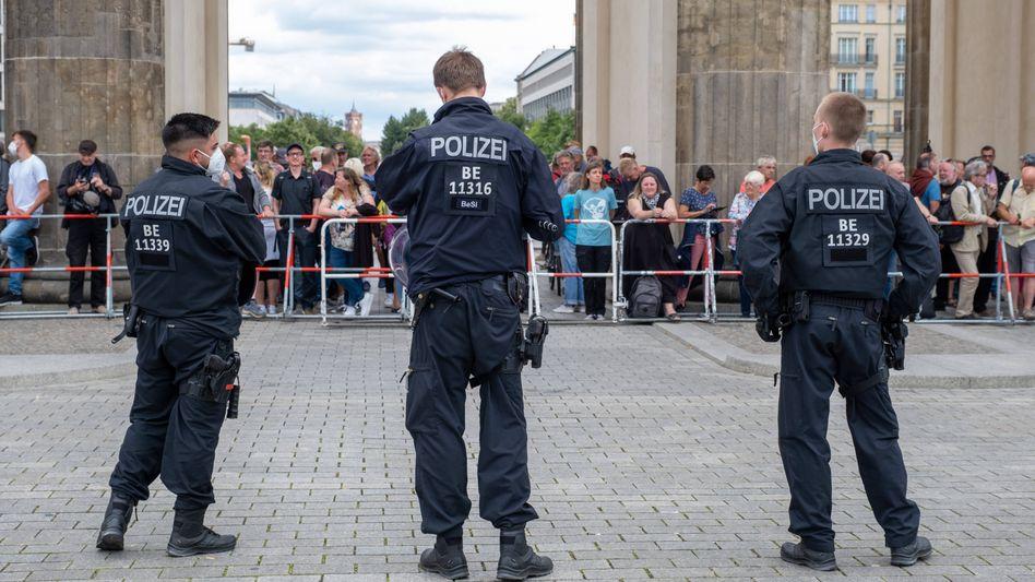 »Querdenker«-Proteste in Berlin