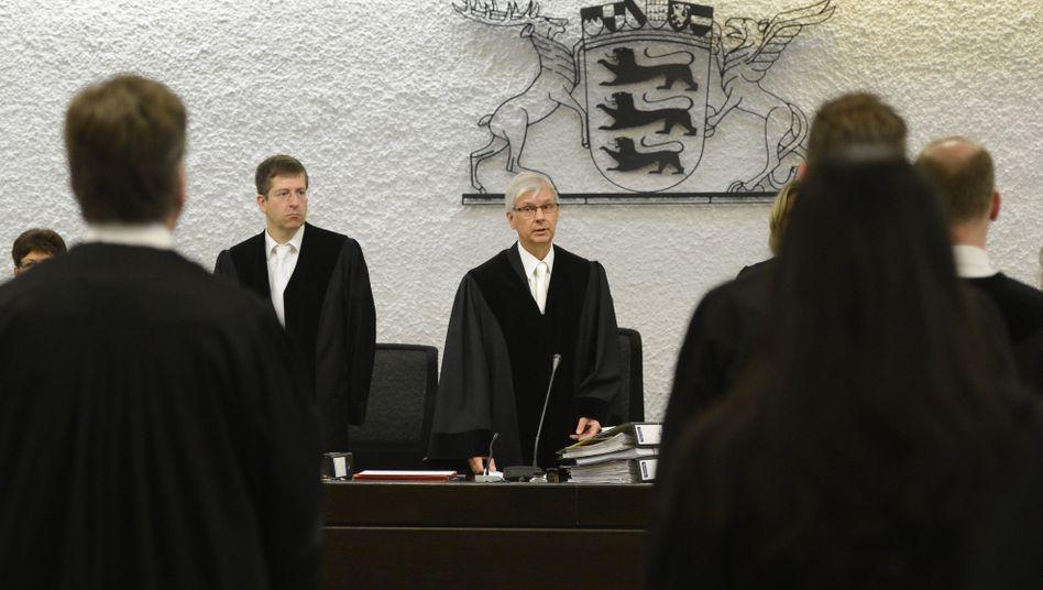 Richter des Landgerichts Stuttgart (Archivbild): Prozess gegen Jörg K. in der zweiten Runde