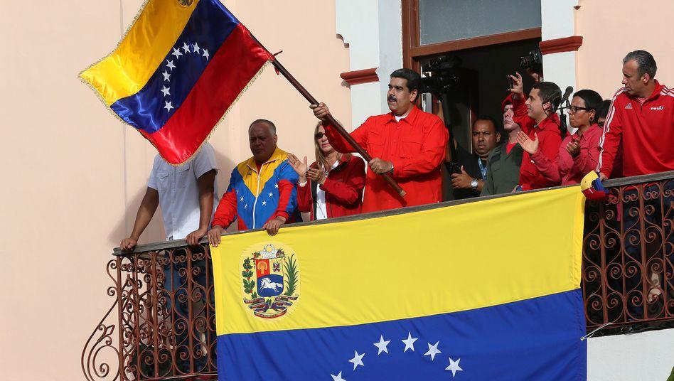 Präsident Nicolás Maduro