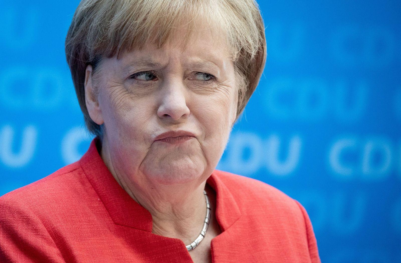 CDU-Bundesvorstand merkel