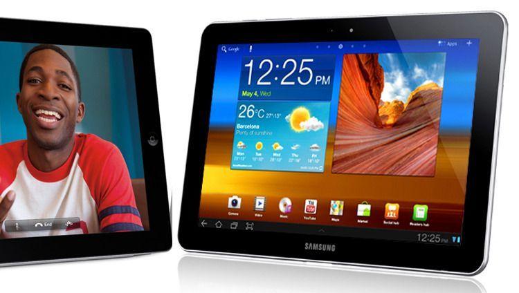 iPad 2 (links) und Galaxy Tab 10.1 (rechts): In Australien darf Samsung es bald verkaufen
