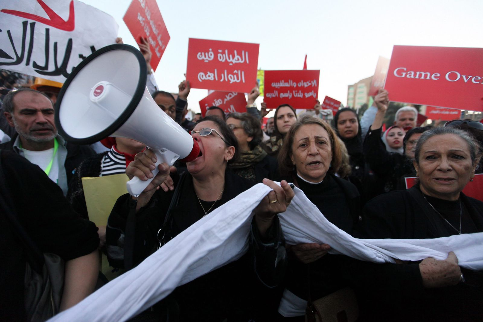 Protest in Kairo