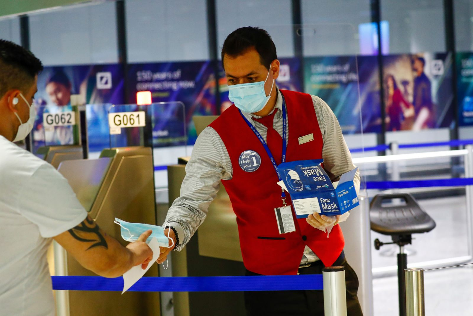 Frankfurt Airport Unveils Virus Hygiene Measures