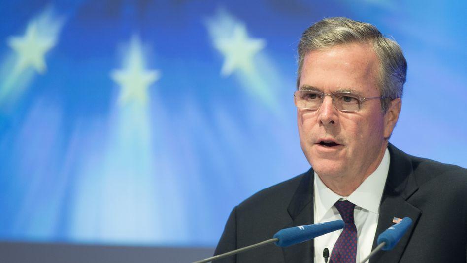 Jeb Bush beim CDU-Wirtschaftstag in Berlin: Russland in die Schranken weisen