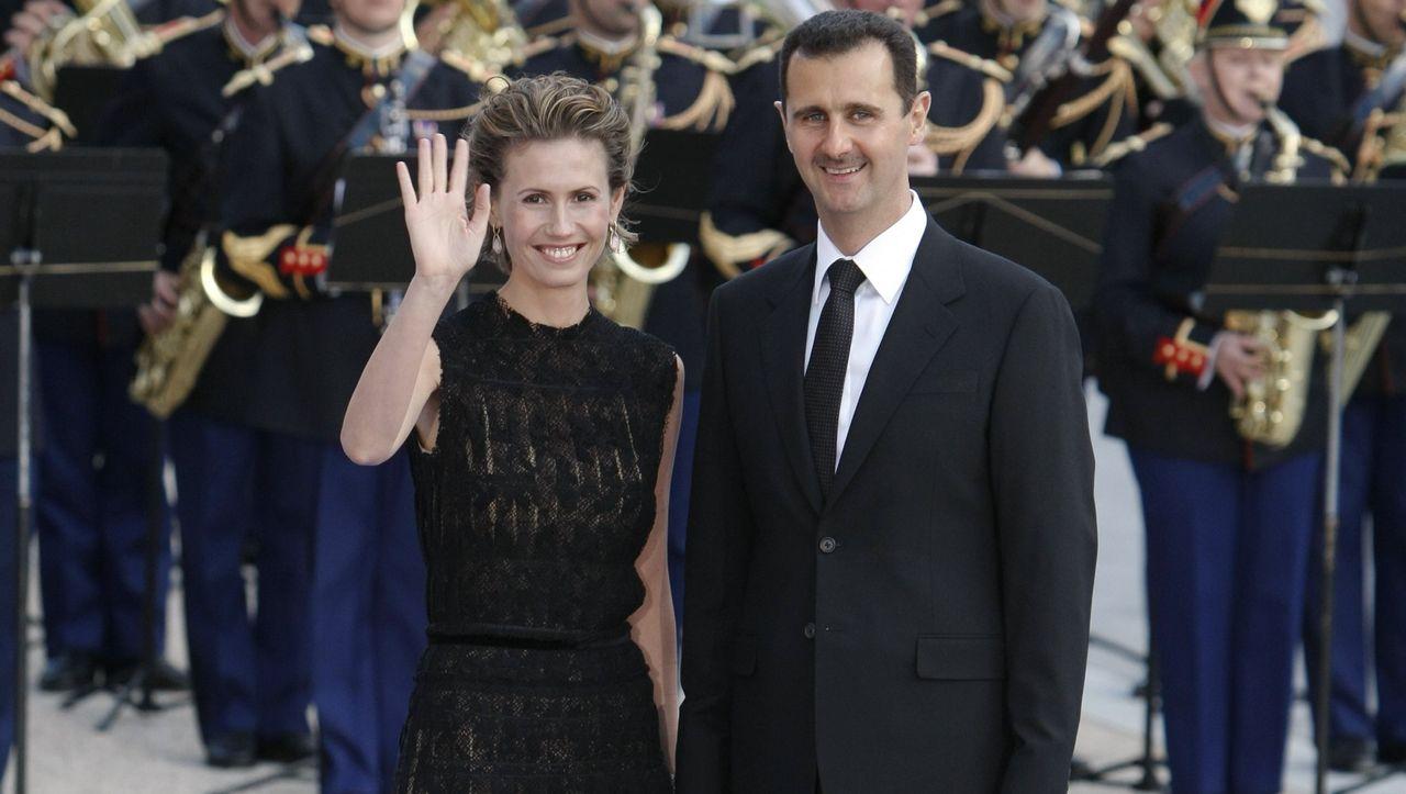 Assad Familie Die Schone Und Das Biest Asma Und Baschar Welt
