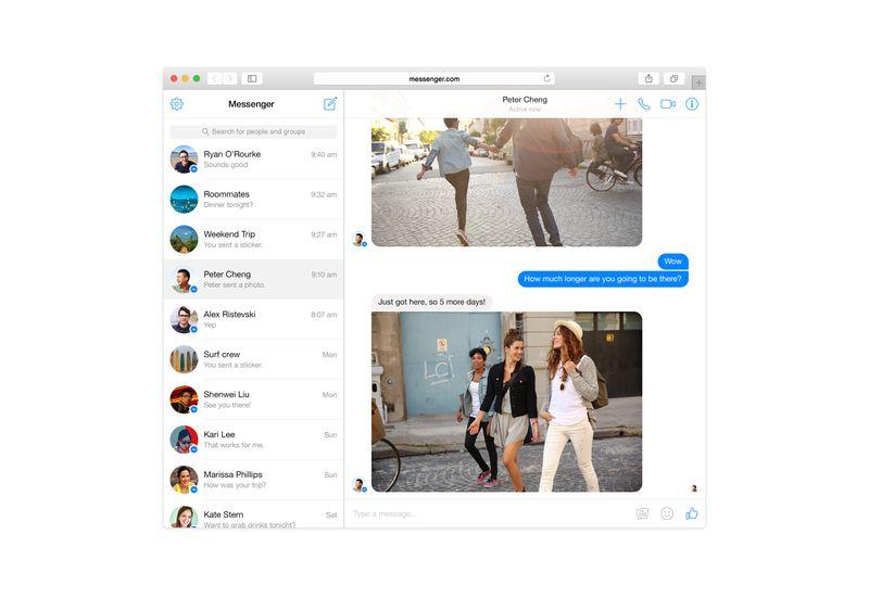 EINMALIGE VERWENDUNG Facebook Messenger/ Web