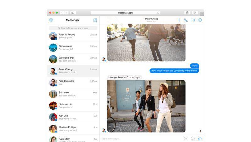 Facebook Messenger im Web: Chatten ohne Ablenkung