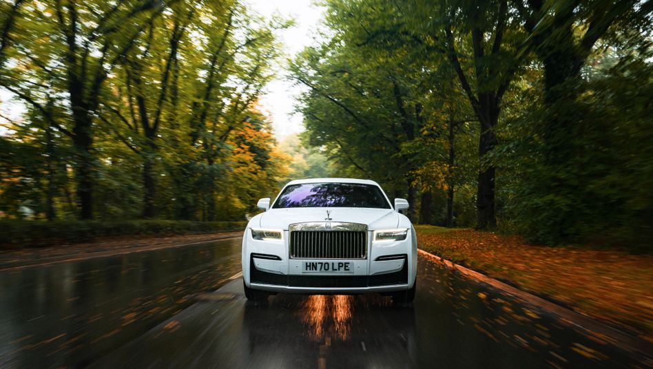 Bescheiden? Das ist der neue Rolls-Royce Ghost trotz einer gewissen Zurückhaltung auf gar keinen Fall
