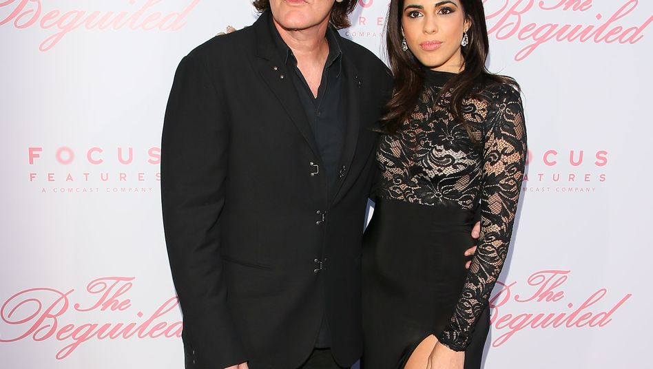 Quentin Tarantino und Daniela Pick