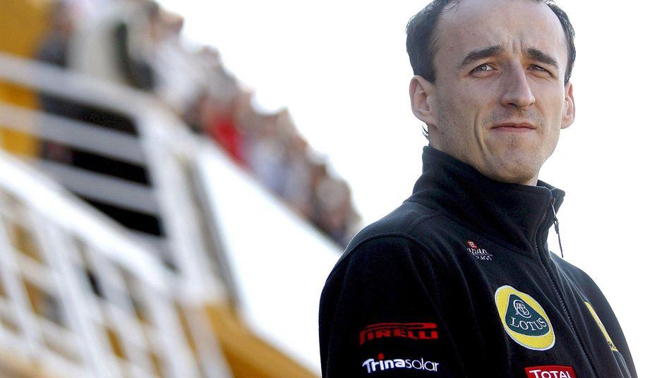 Rennfahrer Kubica: Offenbar auf vereister Straße ausgerutscht