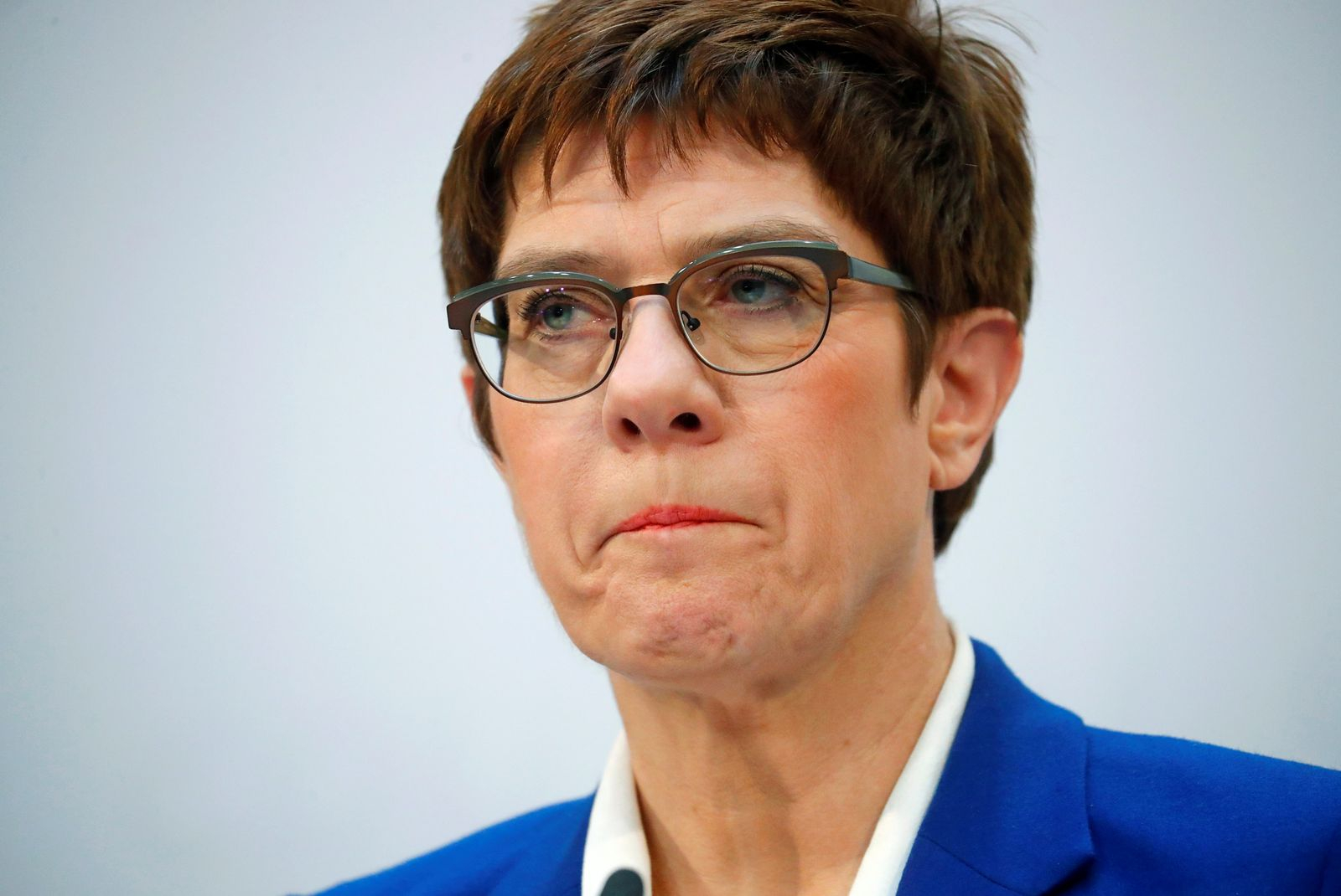 News conference after CDU board meeting in Berlin