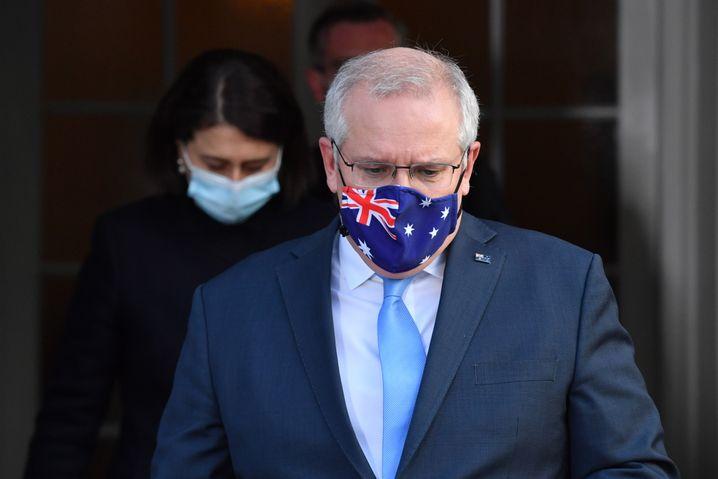 Australiens Ministerpräsident Scott Morrison