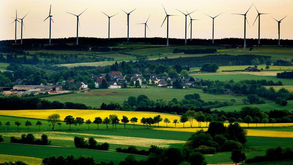 Windräder in der Eifel