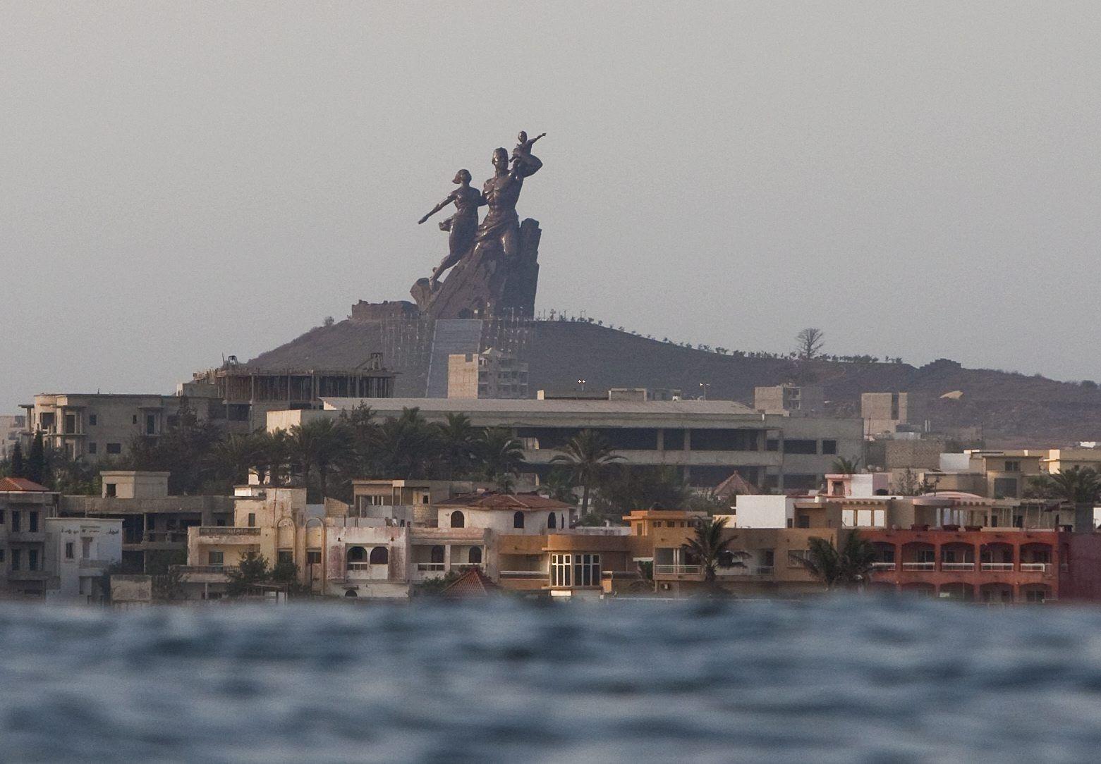 Dakar Senegal Afrikas Wiedergeburt