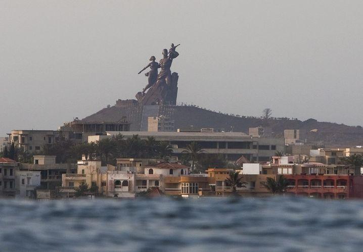 Denkmal der Afrikanischen Wiedergeburt in Dakar, Senegal