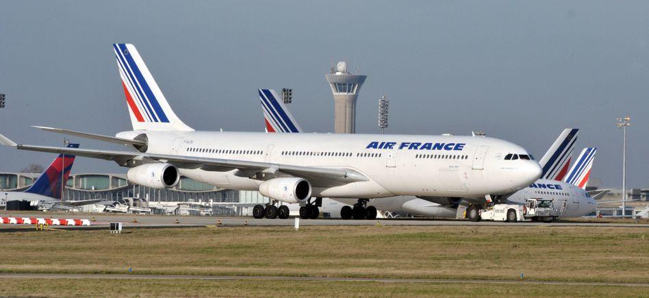 Jet von Air France: Die Kreditkarten des Unternehmens sind nicht überall willkommen