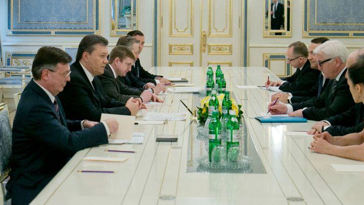 Krise in der Ukraine: Verhandlungspoker in Kiew