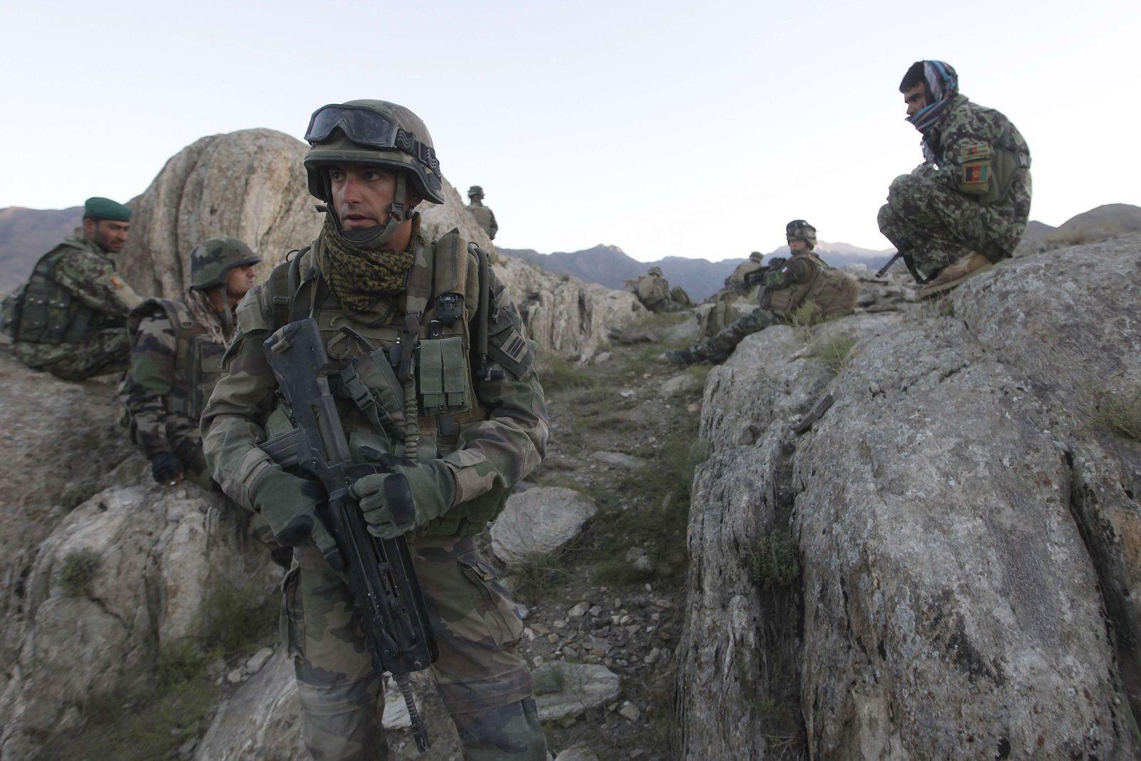 Afghanistan / Kapisa / Französische Soldaten