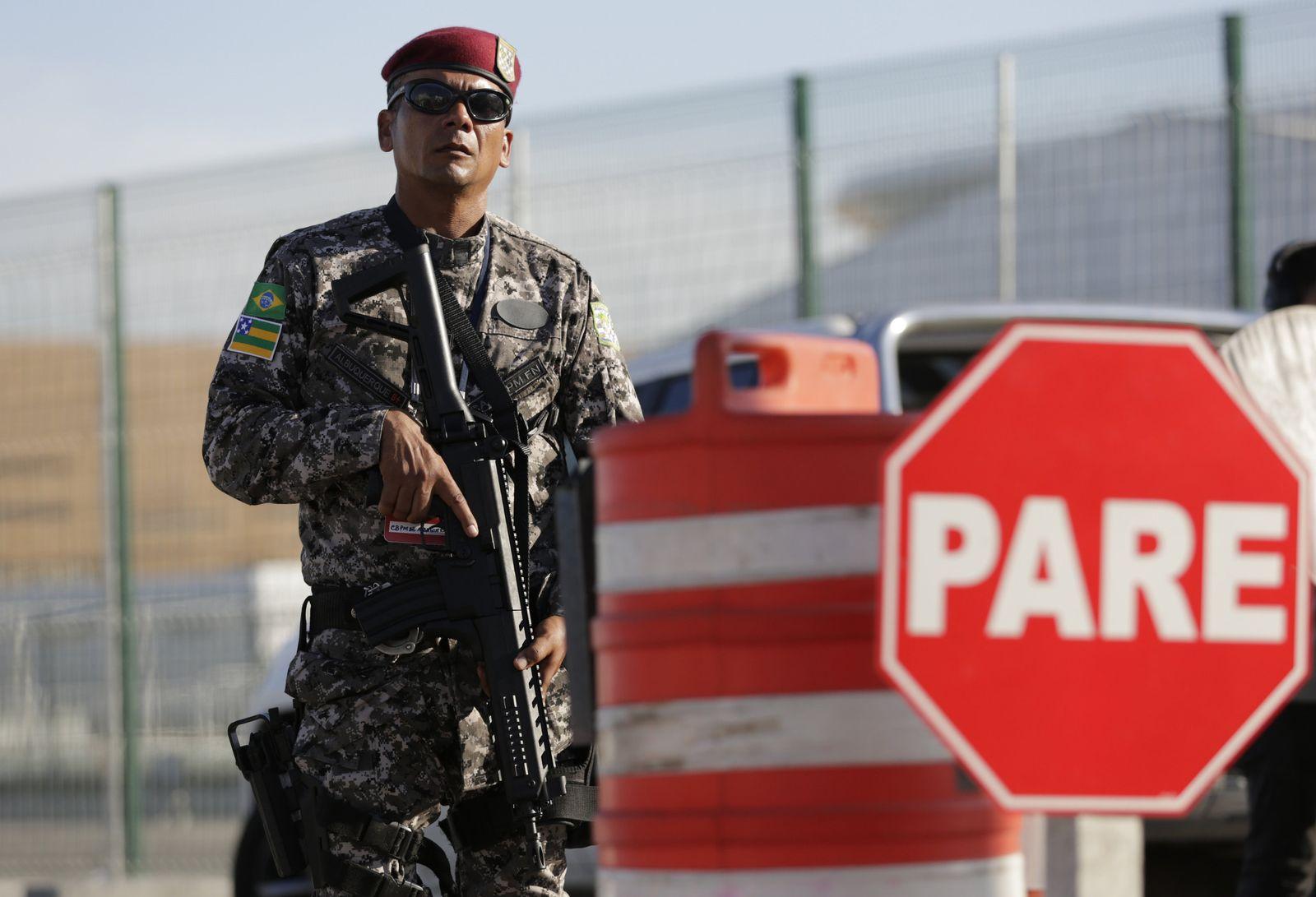 Brazil Olympia sicherheit