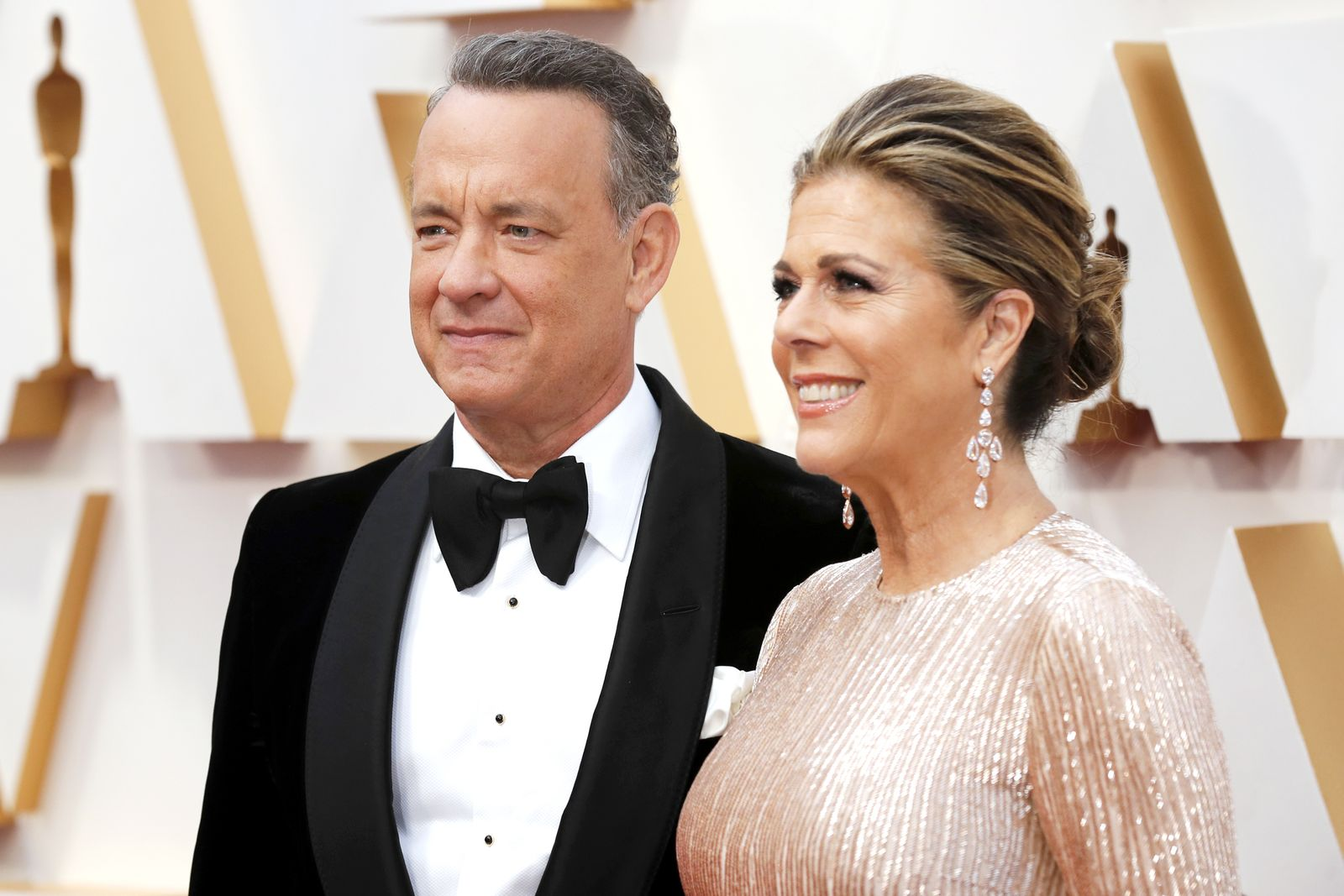 Tom Hanks and wife Rita wilson tested positive for coronavirus, Hollywood, USA - 09 Feb 2020