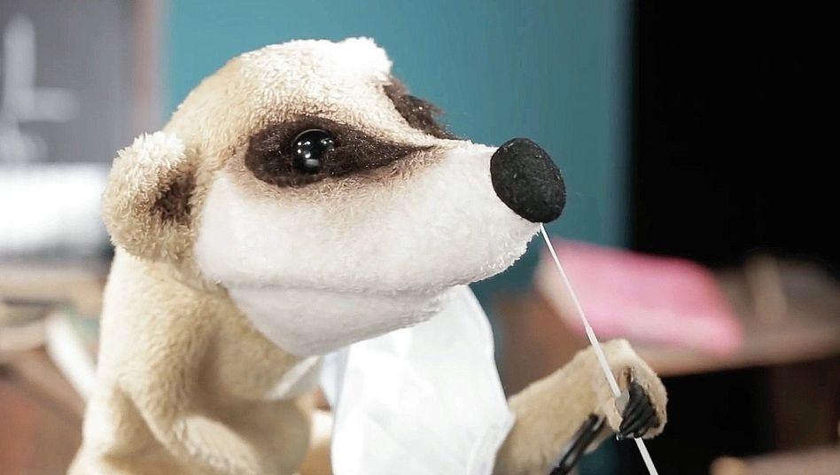 Schultestvideo der Augsburger Puppenkiste: »Macht's euch koine Sorga«