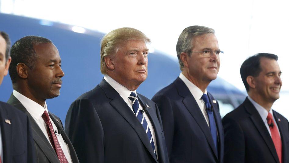 """Kandidat Trump (Mitte): """"So gut wie keine Substanz"""""""