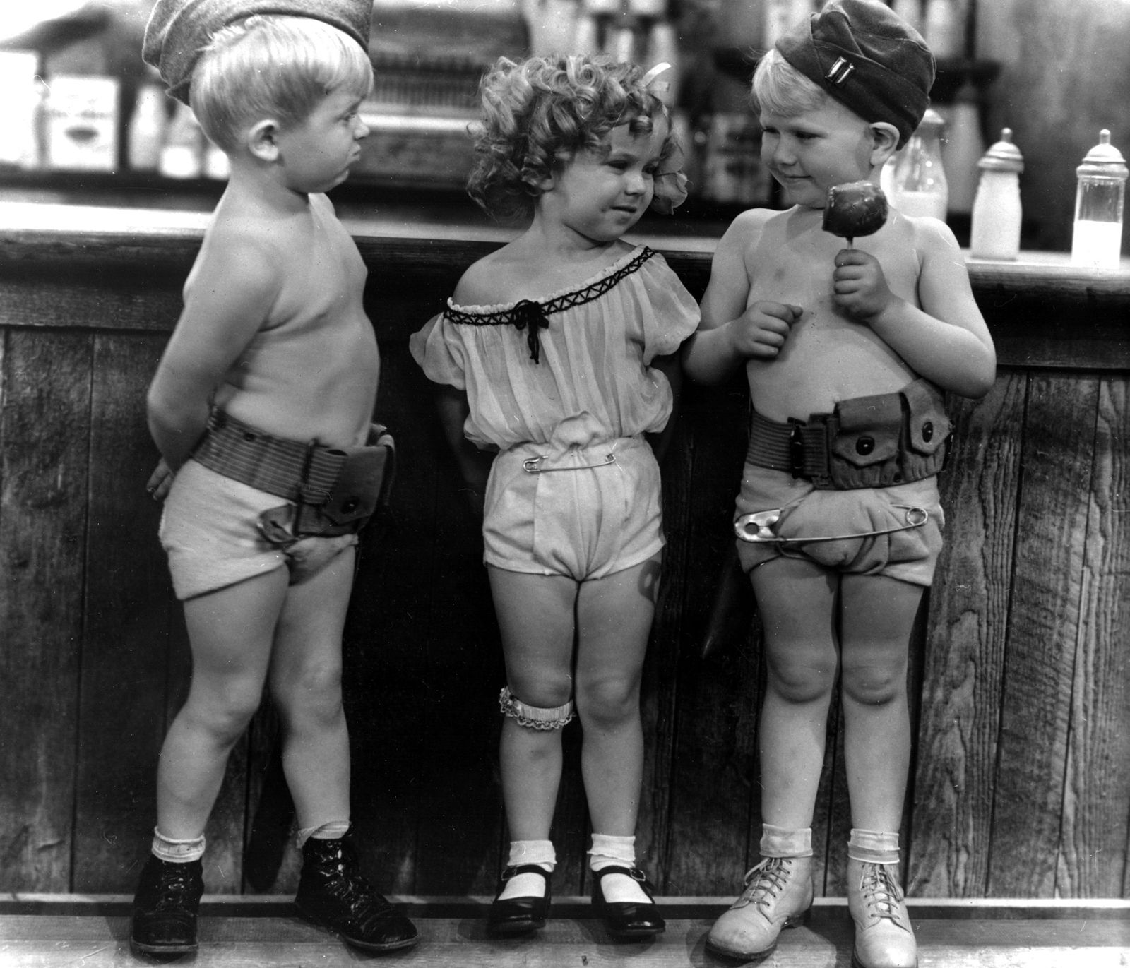 WAR BABIES, Georgie Billings, Shirley Temple, Georgie Smith, 1932
