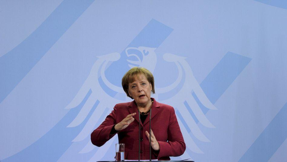 """Kanzlerin Merkel: Für ihre physikalischen Forschungen ein """"sehr gut"""""""