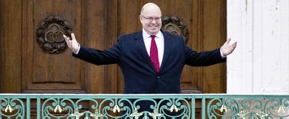 Kanzleramtschef Altmaier bei der Kabinettsklausur in Meseberg: »Der Inhaber erblickt die Sonne nicht«