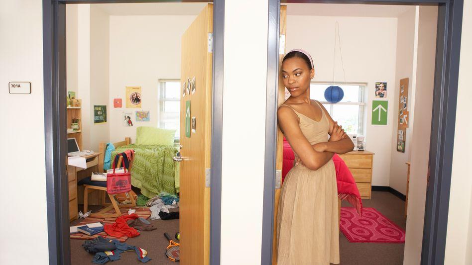 Zwei Zimmer im Studentenwohnheim (Archivbild)