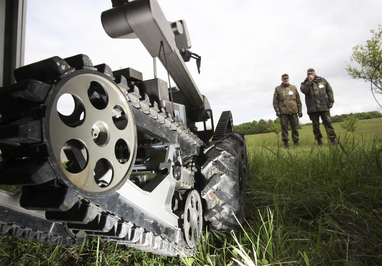 European Land Robot Trials ELROB 2010